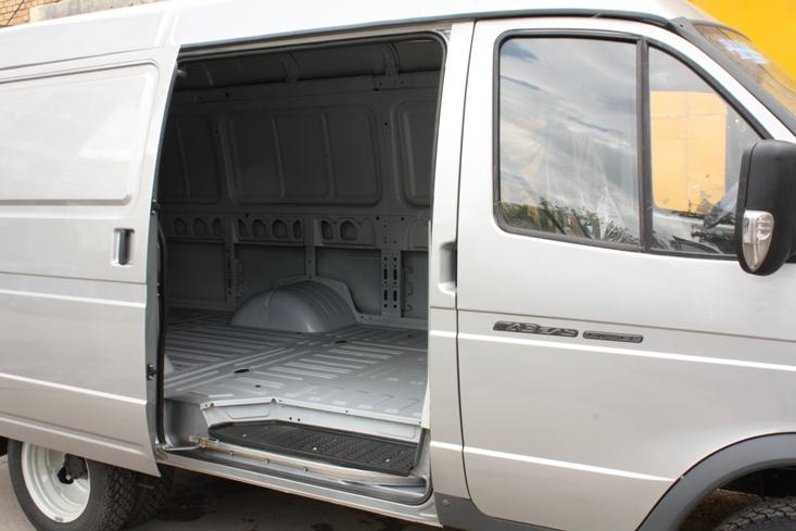 Цельнометаллический фургон газель фото