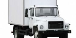 ГАЗ-3309 Газон изотермические, ГУР, АБС